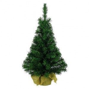 Sapin artificiel de table Domburg H45 cm Vert sapin
