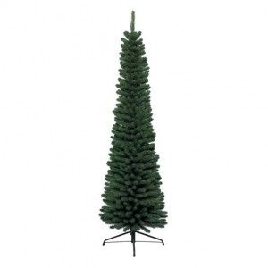 Sapin artificiel de Noël New Pencil H240 cm Vert sapin