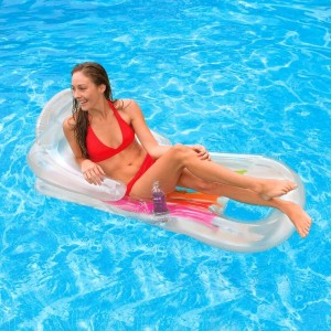 Sillón piscina King Cool Transparente - Intex