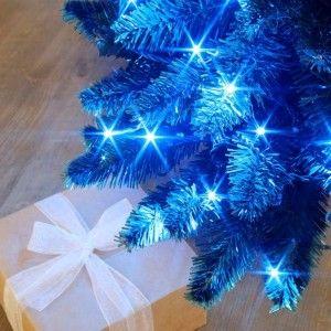 Guirlande lumineuse 288 LED CV 7 m Bleu