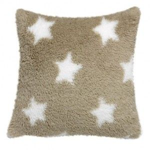 Coussin Stars Beige