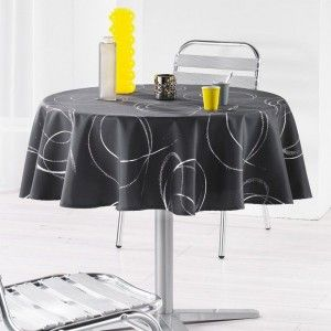 Nappe ronde (D180 cm) Bully Anthracite