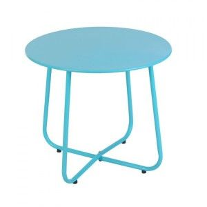 Table d'appoint Simeo Bleu