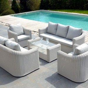 Salon de jardin détente - Salon de jardin, table et chaise - 2 - Eminza
