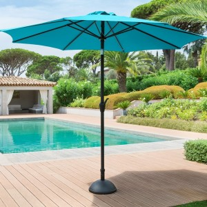 Parasol inclinable rond Fidji (D 3 m) - Lagon
