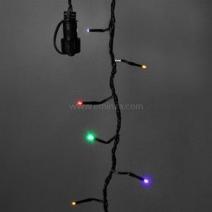 Luces de Navidad 5 m Multicolor 96 LED Sistema Connect 24 V