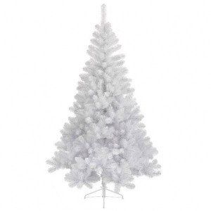 Sapin artificiel de Noël Royal H210 cm Blanc