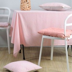 Nappe rectangulaire (L250 cm) Geok Rose