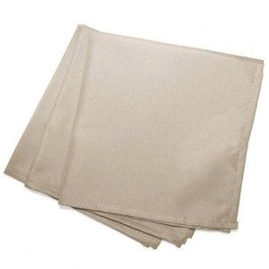 Lot de 3 serviettes Essentiel Lin