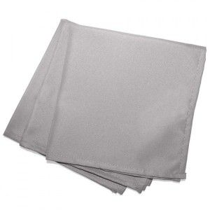 Lot de 3 serviettes Essentiel Gris