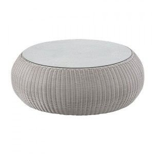 Table basse de jardin Java - Gris clair