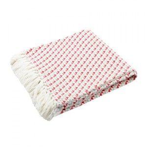 Jeté de canapé (150 cm) Palma Gris - Déco textile - Eminza