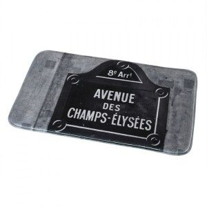 Tapis de bain Love City