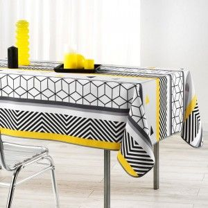 Mantel (L240 cm) Yellow Mix