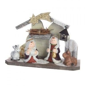 Presepe completo Saint-Ulrich