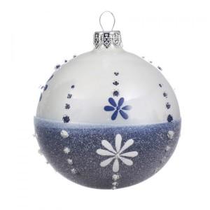 Kerstbal D200 Mm Alpine Donkerblauw Kerstballen En