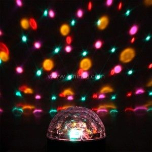 Lampadina  palla magica Disco Multicolore 6 LED