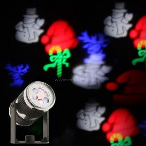 Proyector de luces Formas diversas Multicolor 4 LED