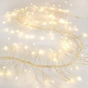 Ghirlanda luminosa Boa Micro LED 1 m Bianco caldo 100 LED