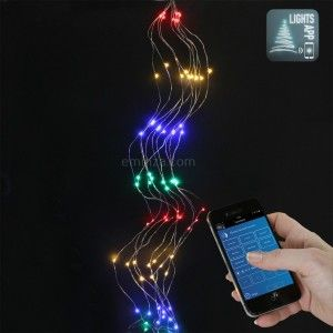 Guirlande lumineuse Grappe Bluetooth 2 m Multicouleur 200 LED CT