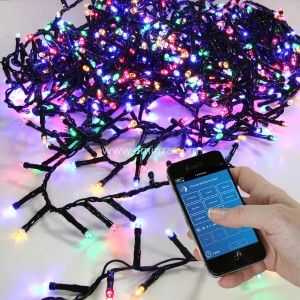 Luces de Navidad Bluetooth 8 m Multicolor 400 LED
