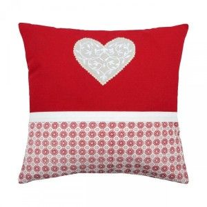 Coussin (40 cm) Darla Rouge