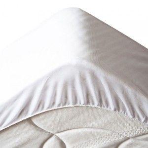 Protege Matelas Impermeable 90 X 190 Cm Tricia Blanc Linge De