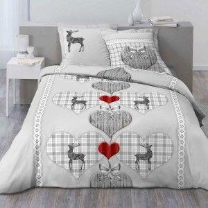 flanelle linge de lit eminza. Black Bedroom Furniture Sets. Home Design Ideas