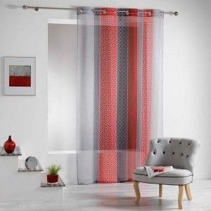 voilage rideau et voilage eminza. Black Bedroom Furniture Sets. Home Design Ideas