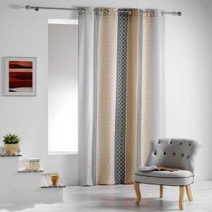 rideau tamisant rideau voilage store eminza. Black Bedroom Furniture Sets. Home Design Ideas