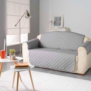 housse de clic clac victoria anthracite d co textile eminza. Black Bedroom Furniture Sets. Home Design Ideas