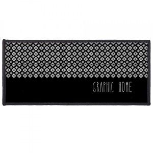 Tapis multi-usage (120 cm) Graphic Home Noir