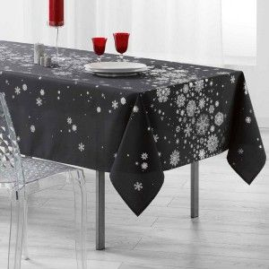 Nappe rectangulaire (L240 cm) Constellation Gris ardoise