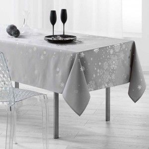 Nappe rectangulaire (240 cm) Constellation Gris