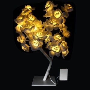 Arbre lumineux de table Gloria H45  cm Blanc chaud