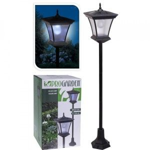 Lampadaire solaire LED Ayko - Blanc froid