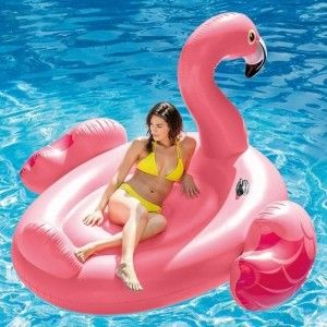 Ile gonflable flottante Flamant Rose - Intex