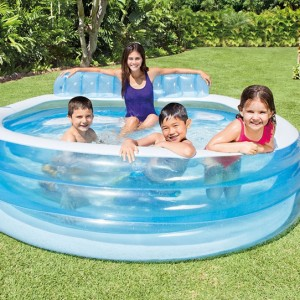 Piscine gonflable avec banc - Intex