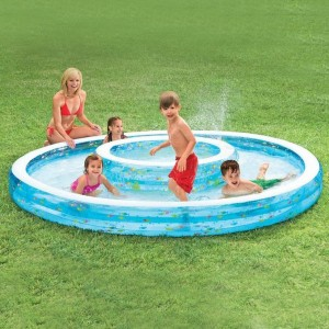 Piscina doble Fuente - Intex