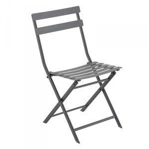 Lot de 2 chaises Barbados Gris - Salon de jardin, table et chaise ...