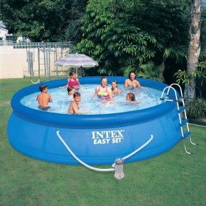 Piscine autostable Easy Set Ø 4,57 x H1,07 m - Intex