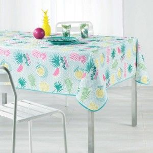 Nappe rectangulaire (L240 cm) Happy Summer Vert menthe