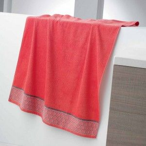 Toalla (90 x 150 cm) Adelie Coral