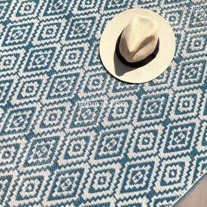 Tapis d'extérieur (120 x 180 cm) Aquatika Bleu
