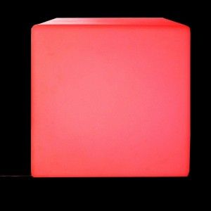 Cubo luminoso Mao 18 LED (50 x 50 cm) - Multicolor