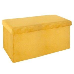 Chaise tyka jaune chaise eminza - Pouf jaune moutarde ...