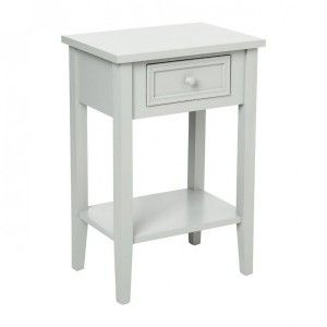 Table de chevet Charme Taupe