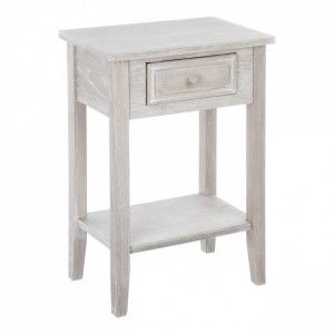 Table de chevet Charme Beige Naturel