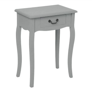 Table de chevet Chrysa Gris