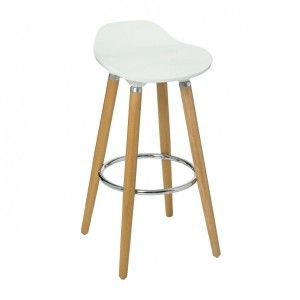 Tabouret de bar Filel Blanc
